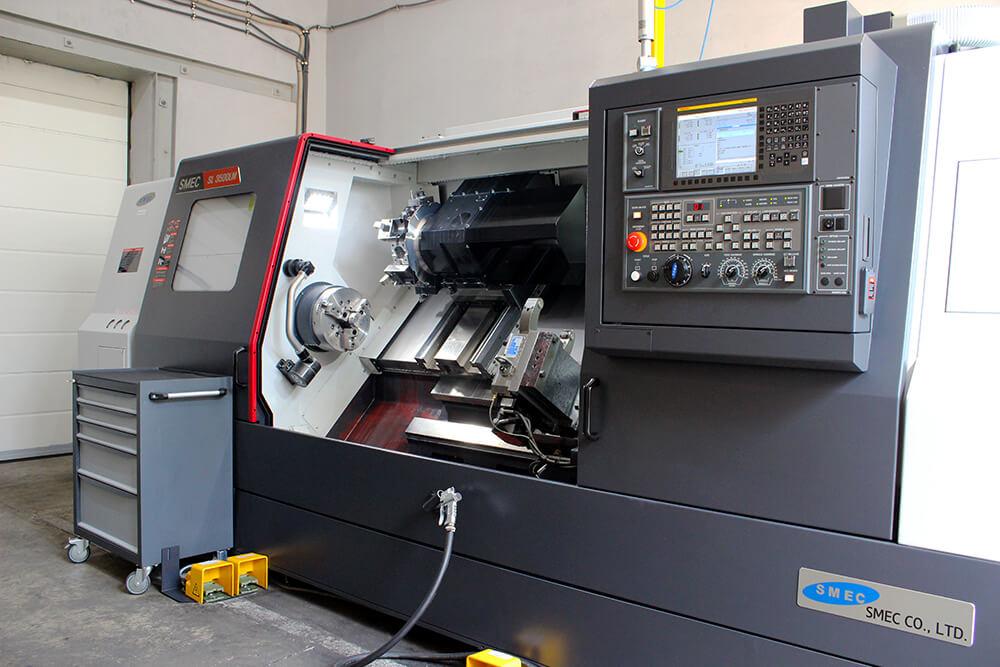 Многоцелевой обрабатывающий центр Samsung SMEC 350 LM с ЧПУ